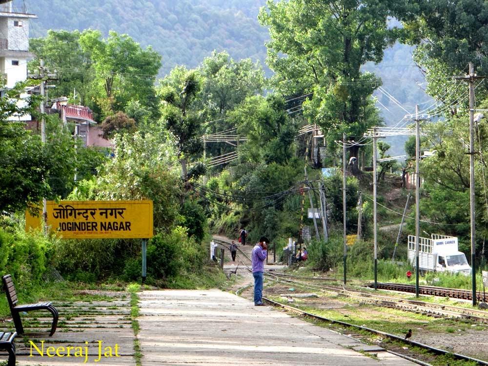 कांगडा रेल यात्रा- जोगिन्दर नगर से ज्वालामुखी रोड तक