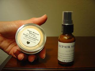 I'm Fabulous Cosmetics Repair Serum and Mineral Foundation.jpeg