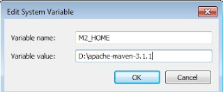 How to set Maven classpath in Windows