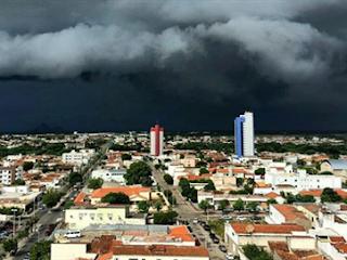 Quinta-feira pode ser com chuvas em parte da Paraíba; veja previsão da Aesa