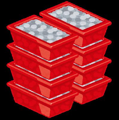 ドル箱のイラスト(コイン)