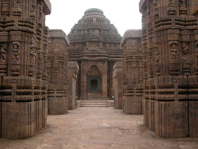 Konark Sun Temple - Front View- UNESCO World  Heritage site in India