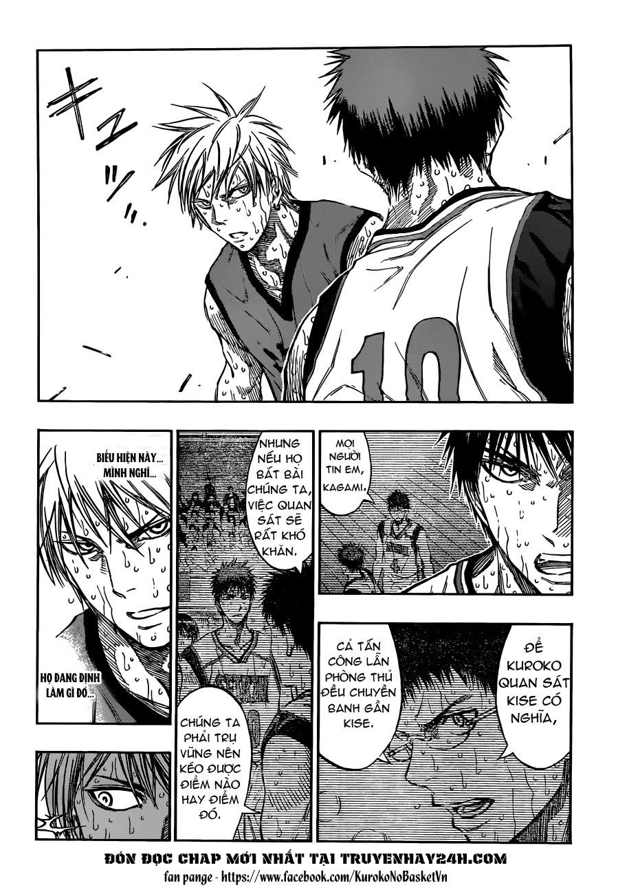 Kuroko No Basket chap 199 trang 8