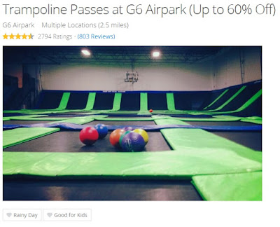 Groupon Portland Oregon G6 Airpark family deals