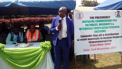 Declaration of Independence of Ambazonia Caused Influx of Refugees- Nigerian Refugee Commission ...GC Visits