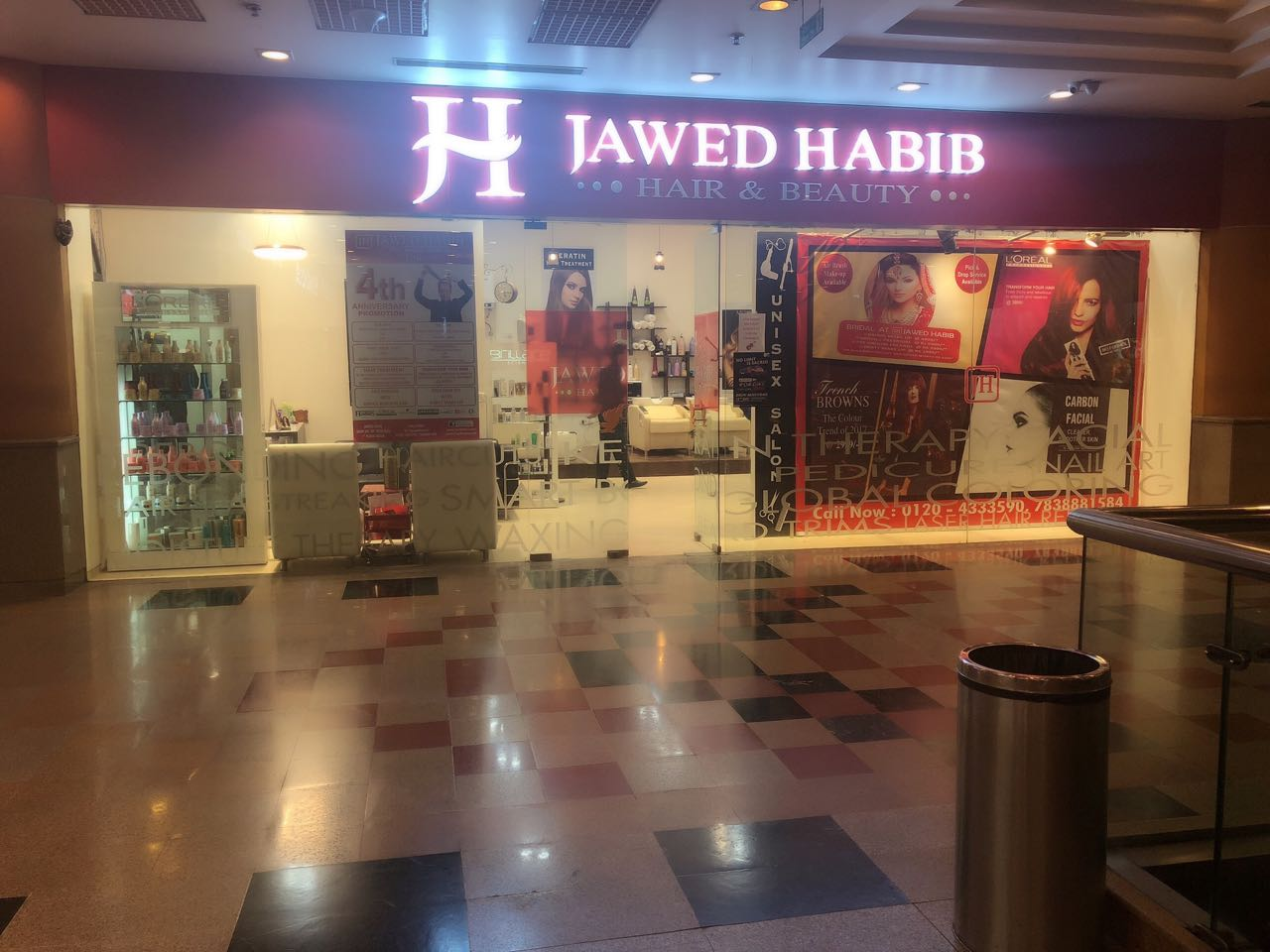 Jawed Habib Launched New Salon In Spice Mall Sector 25a Noida