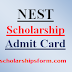 NEST Scholarship Admit Card 2017 Scholarship Test Hall Ticket