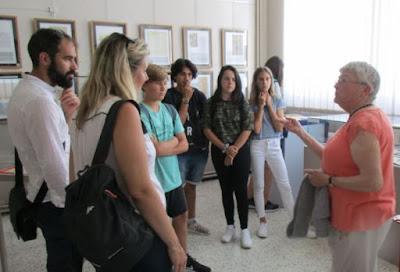 Jacqueline Gaumet guide nos étudiants espagnols