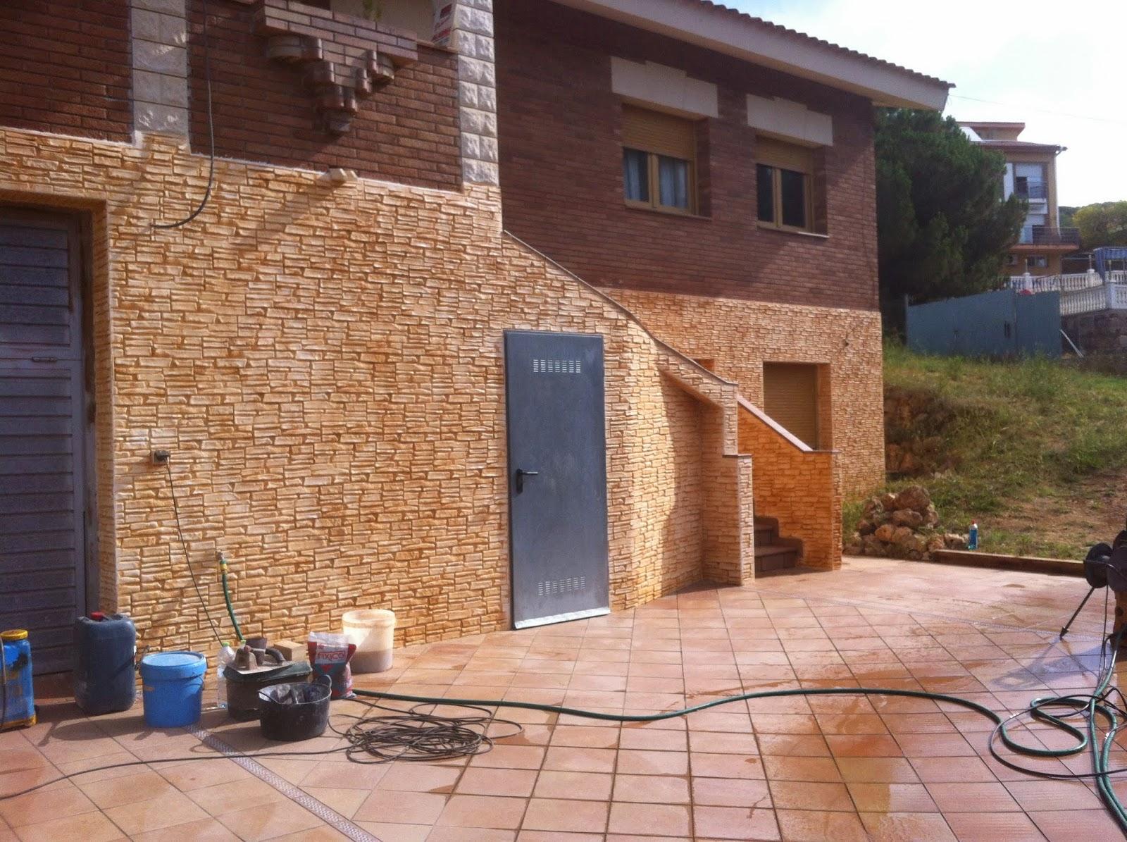 Hormig n impreso decoraci n de exteriores de casas - Decoracion de exteriores de casas ...