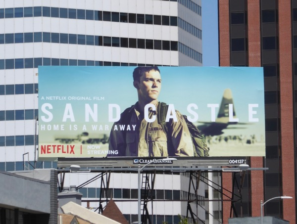 Sand Castle movie billboard