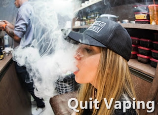 quit vaping and vaping health risks