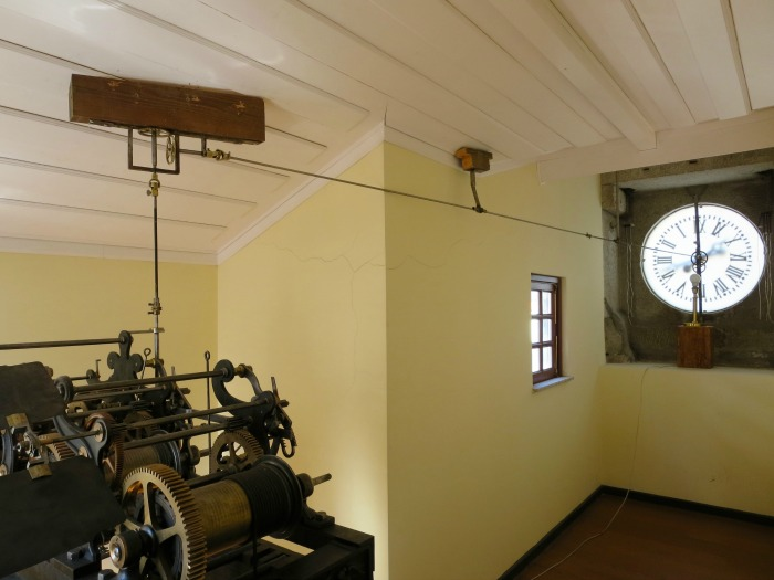 Casa da Ínsua - clockwork