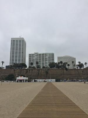June gloom, Santa Monica, California