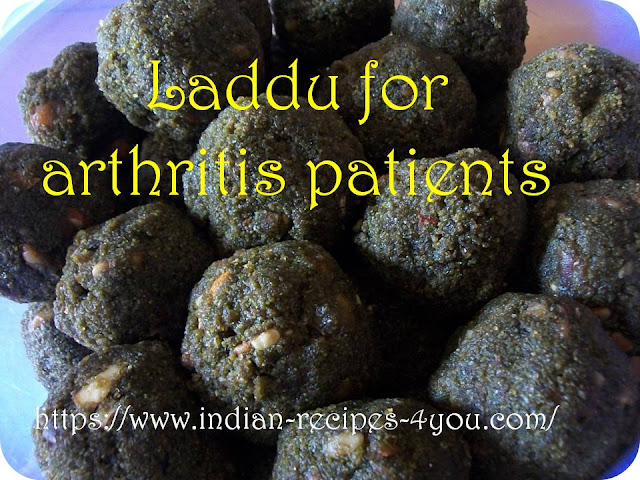 Laddu for arthritis patients in hindi by Aju