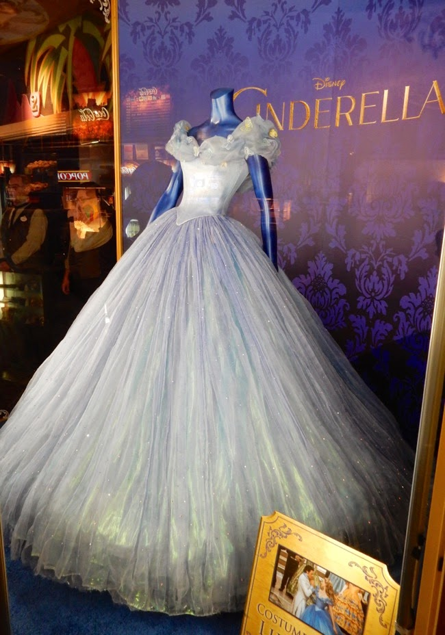 Advance of The Costumes for The Film Cinderella