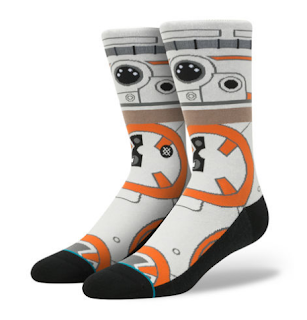 stance socks star wars bb8