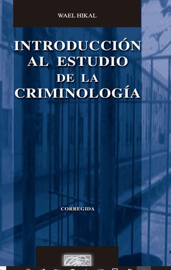 Criminología - LIBROS EN PDF GRATIS @tataya.com.mx