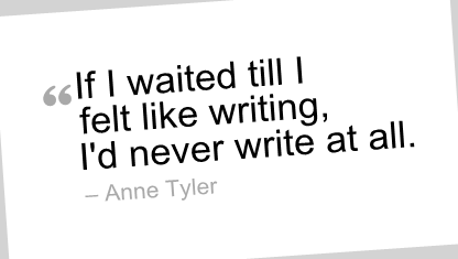 writing quote, anne tyler