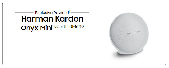 Samsung Galaxy S9 S9+ Malaysia Preorder Promotion-  Free Harman Kardon Onyx Mini Speaker worth RM699