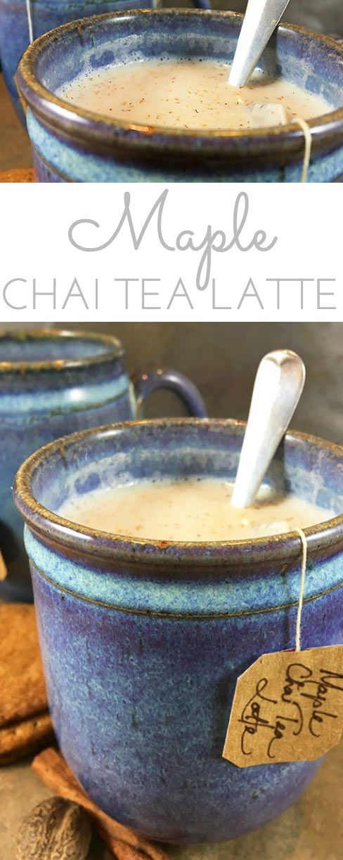 MAPLE CHAI TEA LATTE RECIPE