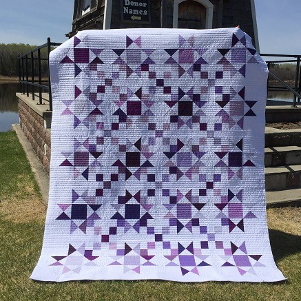 Stars and Four Patches Quilt Free Pattern
