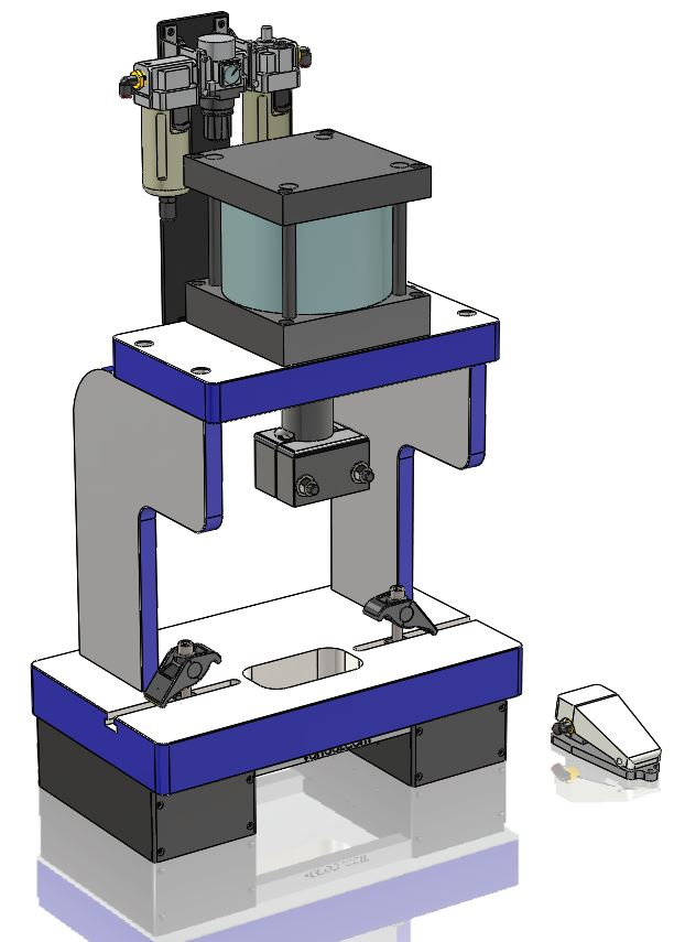 Vortool Manufacturing Ltd Portable And Modular Presses