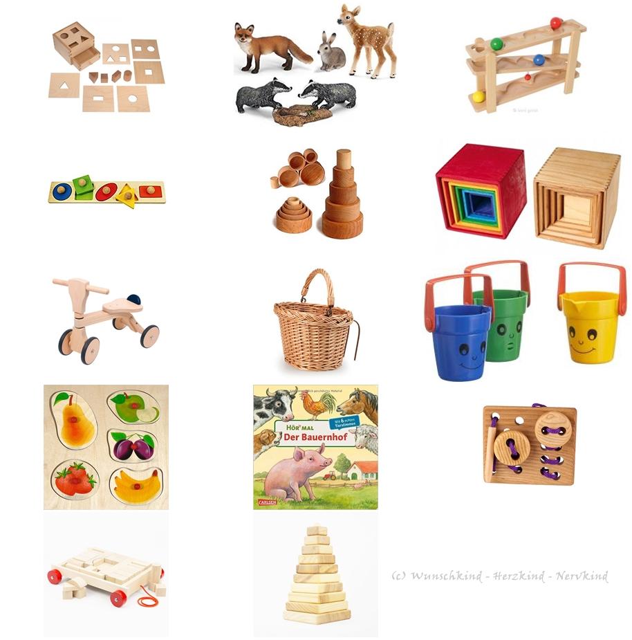 Wunschkind - Herzkind - Nervkind: Geschenkideen für 1jährige Kinder