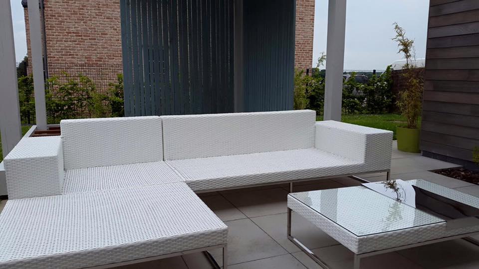 Hieronder loungeset Lineo 3 meter, voor het wat
