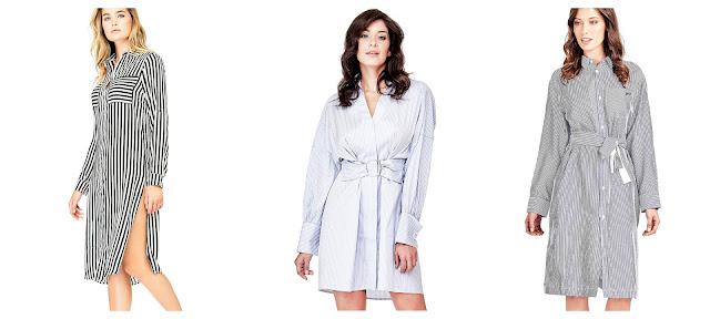 Sukienka jak koszula