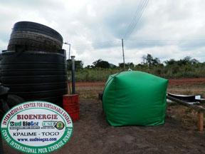 biogass plant, Ghana West Africa