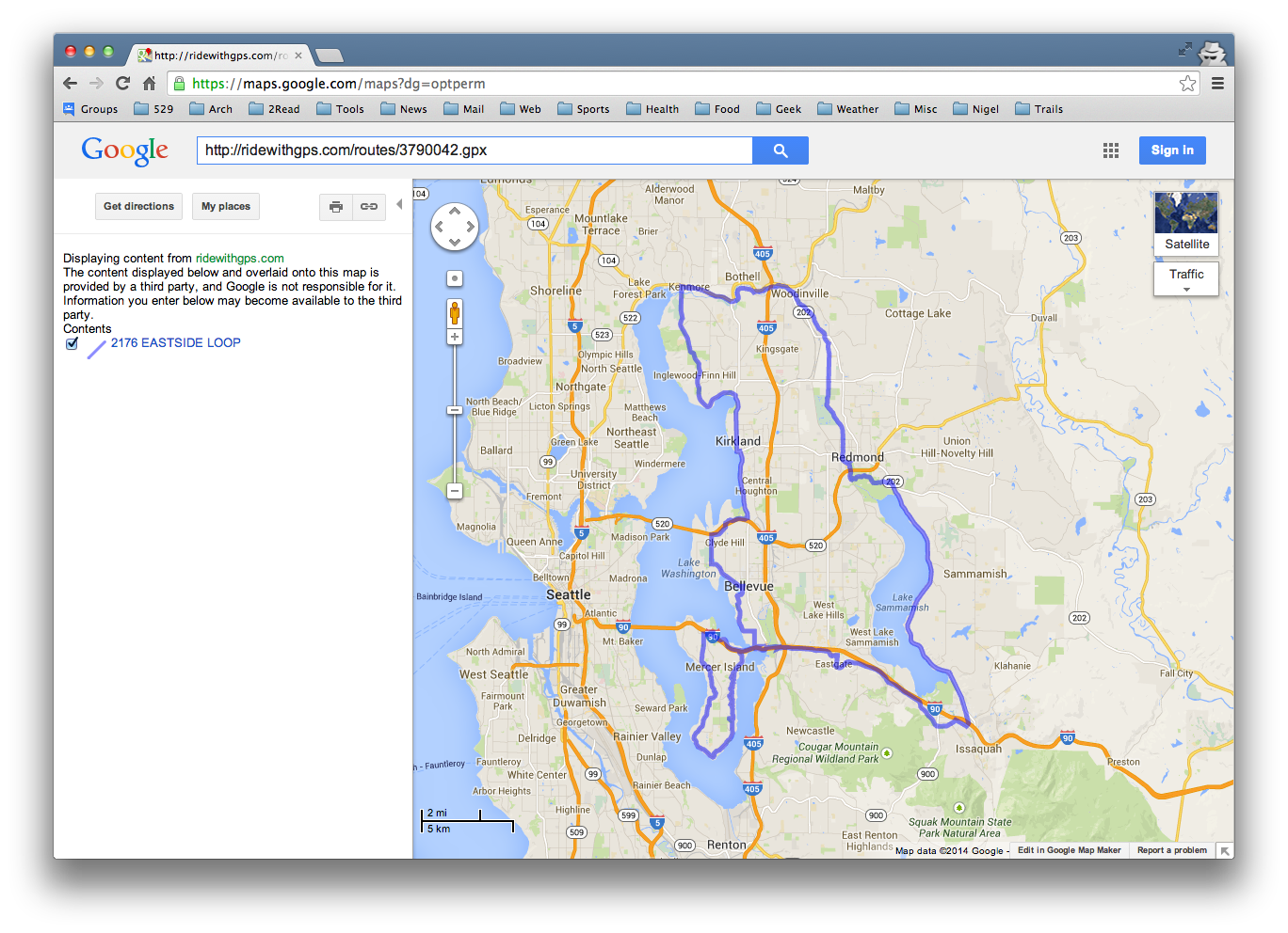 keithmo bikes: Fun and Games with Google Maps and GPX Files