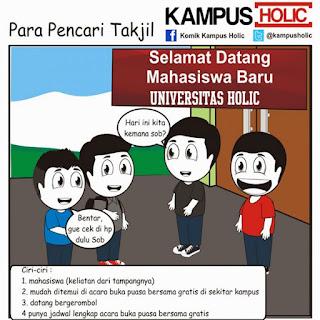 Meme rencana mahasiswa mencari takjil gratis dil bulan ramadhan terbaru buat dp bbm