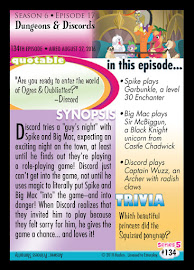 My Little Pony Dungeons & Discords Series 5 Trading Card