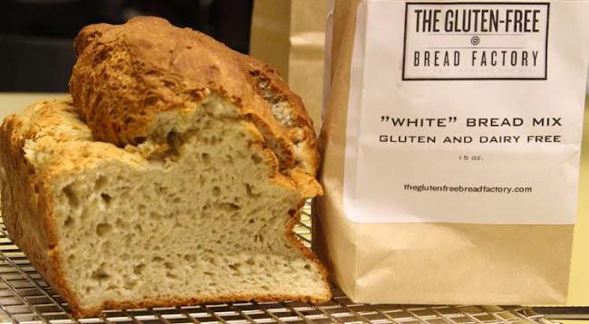 pan sin gluten de panadería