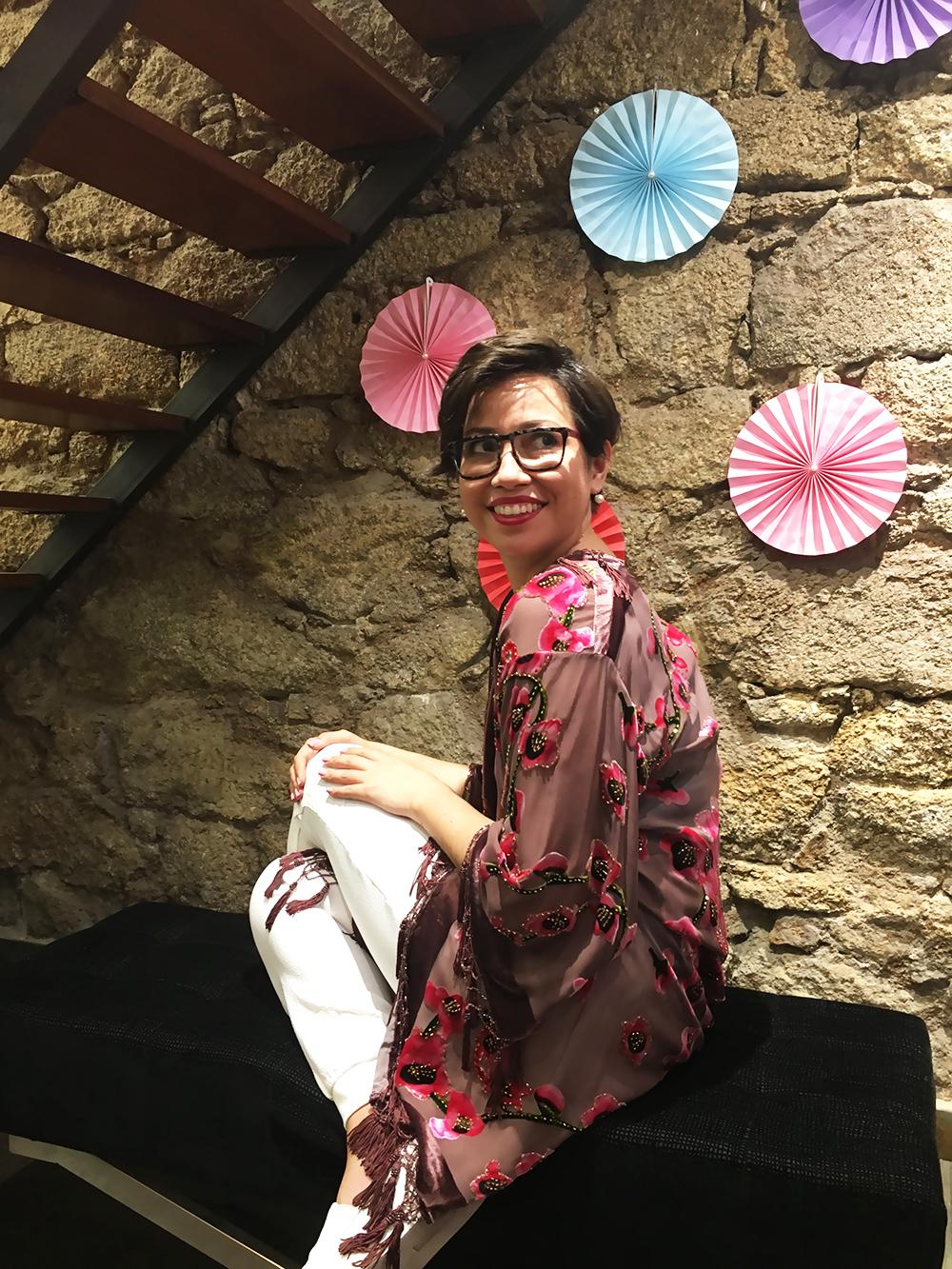 como usar el kimono