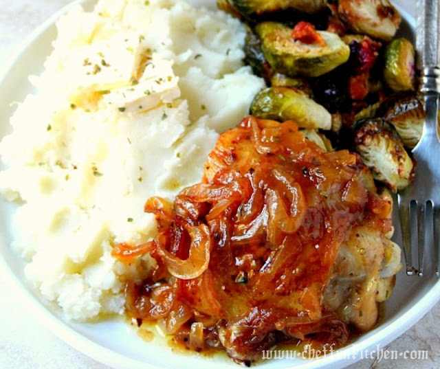 French Onion Roasted Chicken Recipe