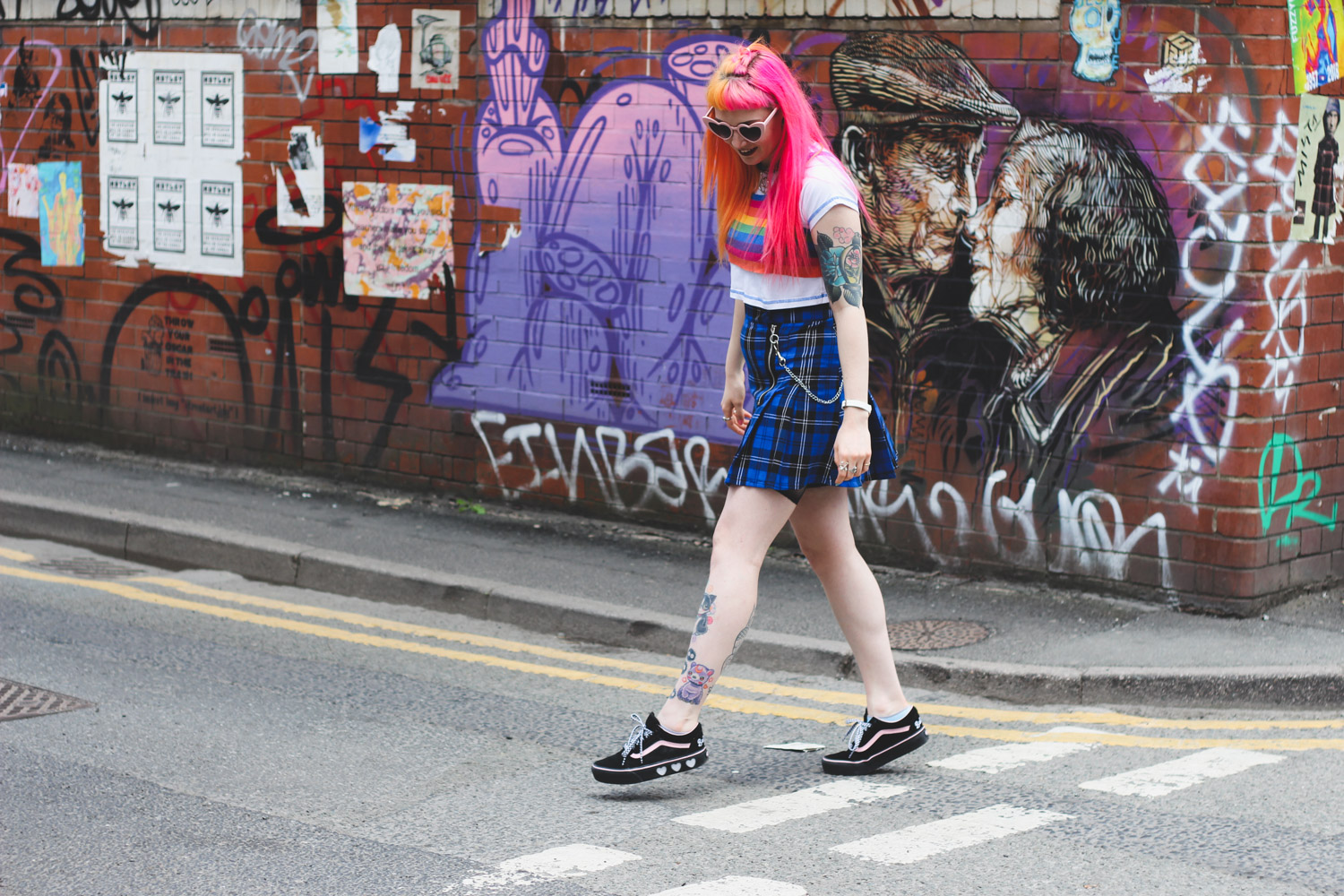 Alternative Fashion Blogger Foxxtailz Styles The Ragged Priest Skirt