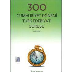 Altın Anahtar YGS 300 Cumhuriyet Dönemi Türk Edebiyatı Soru Bankası