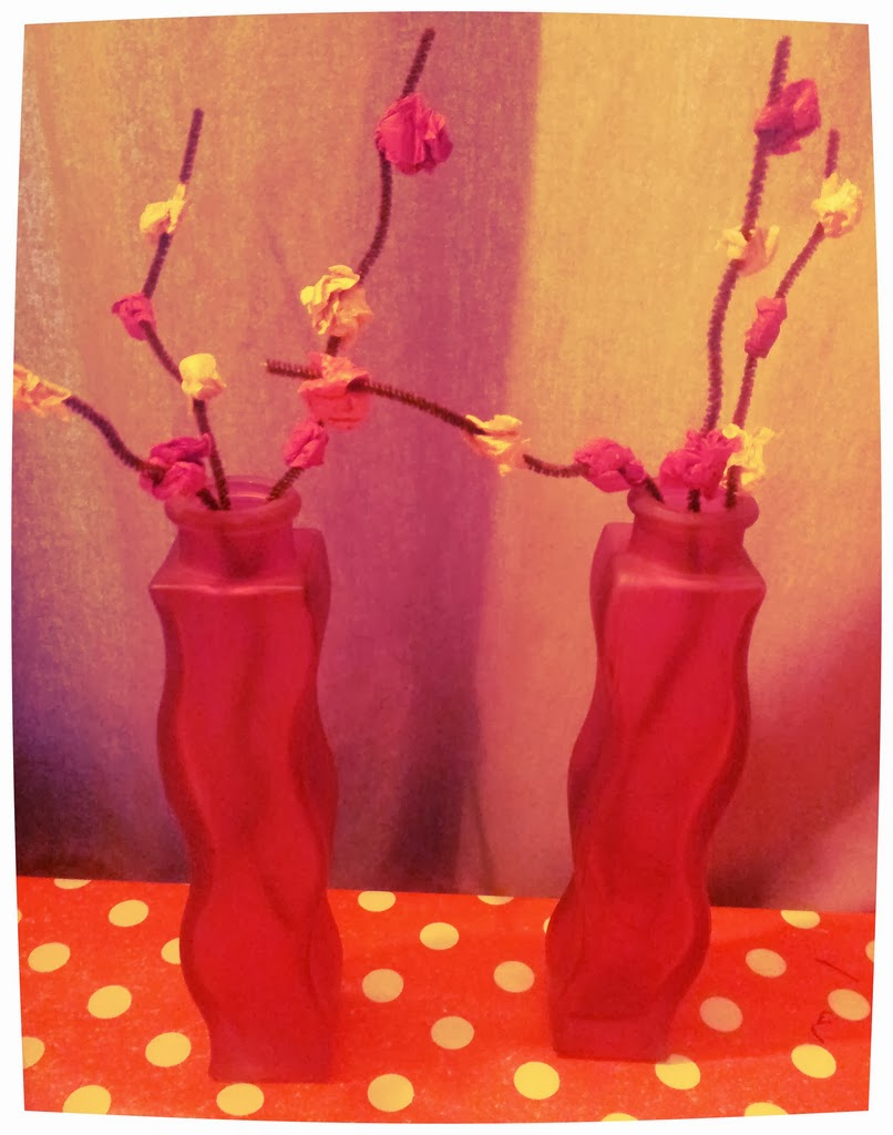 Chinese New Year Plum Blossoms Craft