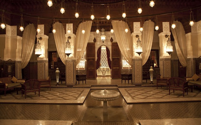 Royal Mansour, Marrakesh, Maroko.
