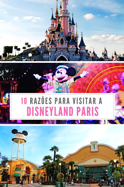 10 razões para visitar a Disneyland Paris