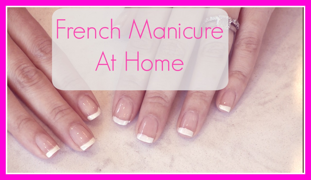 The Daily Connoisseur: French Manicure Tutorial (Easy)