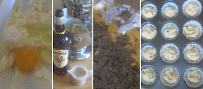 Zubereitung Amarula-Cupcakes