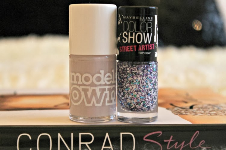 Maybelline Colour Show Topcoat in White Splatter