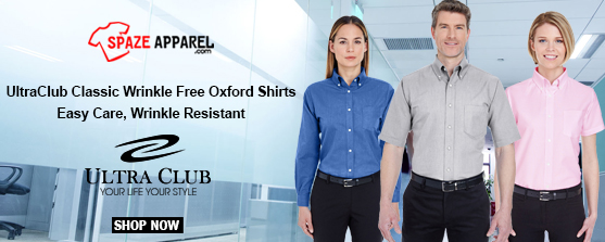 UltraClub Classic Wrinkle Free Oxford Shirts