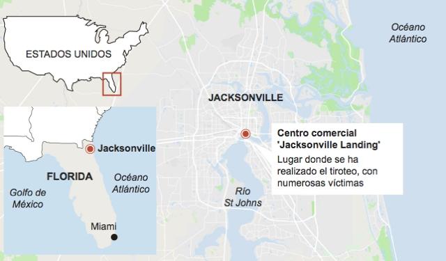 Tiroteo en Florida dejó tres muertos y 11 heridos