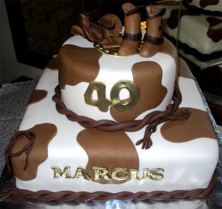 Delana S Cakes Western Theme Cake