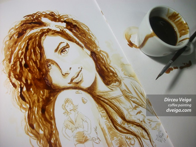 10-Amy-Winehouse-Dirceu-Veiga-Coffee-Good-for-Drinking-and-Good-for-Painting