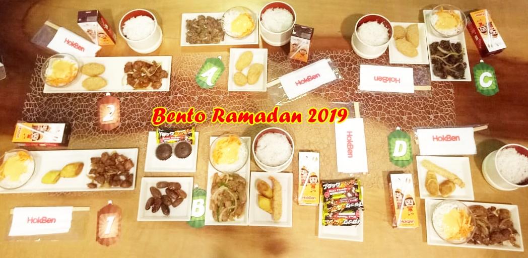 HokBen Hadirkan Kembali Menu Bento Ramadan Selama Bulan Puasa