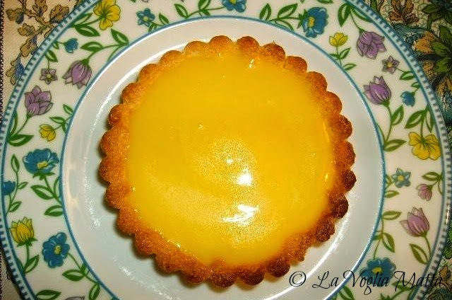 tartellette al lemon curd